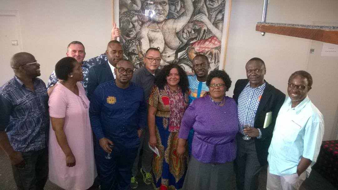 The CAS Team with 2017 African Humanities Programme Fellows