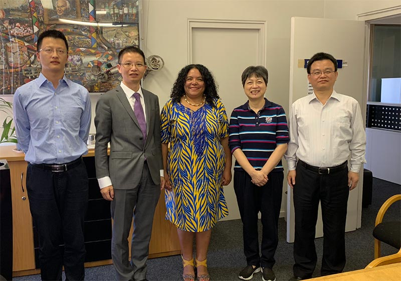 A delegation of senior university academics of China's most prestigious and oldest universities met on 25 October 2018 with Dr June Bam-Hutchison